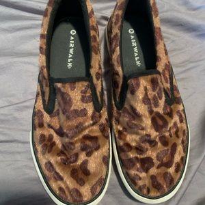 Women's Airwalk Leopard slip-on